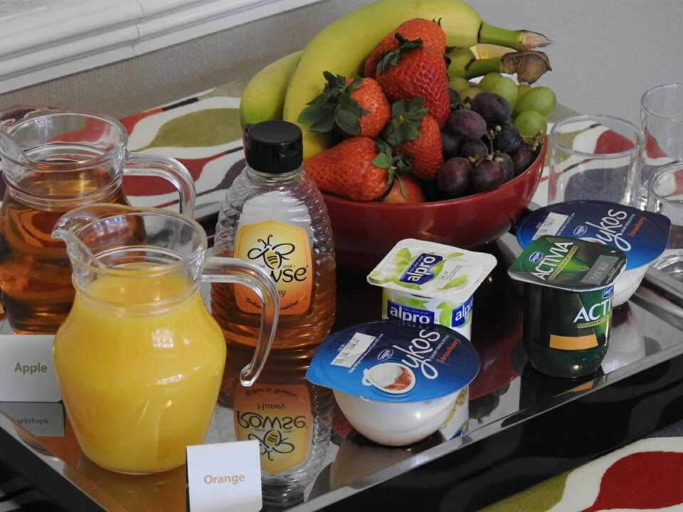 Summerfield Guest House Bridlington Front Breakfast Fruit