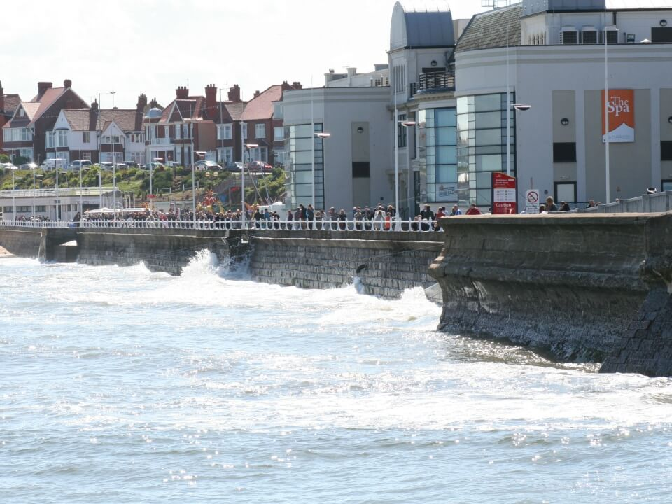 View of Bridlington Spa